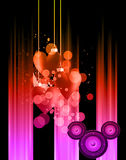 Valentine's Day Disco Flayer Stock Photo