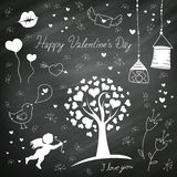Valentine's Day Elements Royalty Free Stock Photo