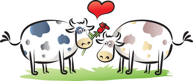 cartoon cow in love clipart. Royalty-free GIF, WMF, SVG ... |Cute Animated Cows In Love