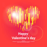 Valentine s day. February 14. Royalty Free Stock Image