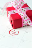 Valentine's day first date Stock Photo