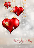 Valentine's Day Flyer Royalty Free Stock Images