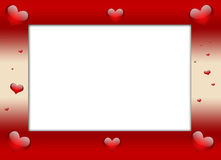 Valentine's day frame Stock Photography