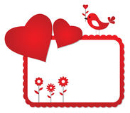 Valentine's Day frame Stock Photo