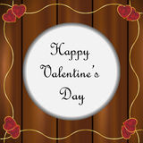 Valentines day frame Stock Photo