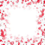 Valentine`s Day Frame Royalty Free Stock Photography