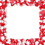 Valentine`s Day Frame Stock Images