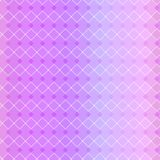 Valentine`s day geometric background, seamless pattern. Pastel color vector illustration. Gradient texture design stock photo