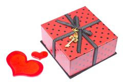 Valentine's Day gift Stock Photos
