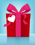 Valentine's Day Gift Box Stock Photography