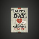Valentines Day Gift Box Stock Photography