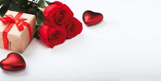 Valentines Day background with heart stock photo