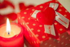 Valentine's Day Gift Stock Photography