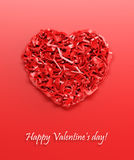 Valentine's day gift card Stock Photo
