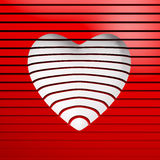 Valentine's day gift card Royalty Free Stock Image