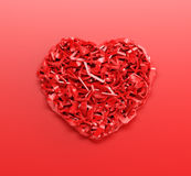 Valentine's day gift card Stock Images