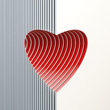 Valentine's day gift card Royalty Free Stock Images