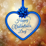 Valentine s day Gift card. EPS 10 Stock Photography