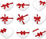 Valentine's Day gift cards Stock Images