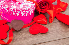 Valentine's Day gift Royalty Free Stock Photos