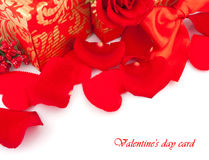 Valentine's Day gifts Stock Images