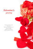 Valentine's Day gifts Royalty Free Stock Photos