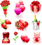 Valentine's Day Gifts Stock Image