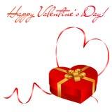 Valentine's day greeting card Stock Photo