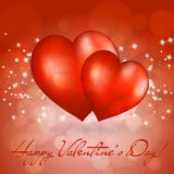 Valentine\\\'s day greeting card Stock Image