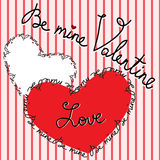 Valentine's Day Greeting Card Stock Images