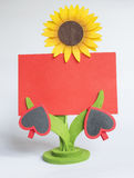 Valentine's day greeting card Stock Image