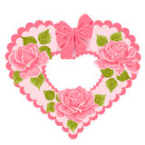 Valentine's Day Greeting card, vector illustratio Royalty Free Stock Image