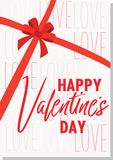 Valentine`s day greeting card. Vector illustration. Valentine`s day greeting card. Vector illustration Royalty Free Stock Image