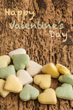 Valentine's day greeting Royalty Free Stock Photo