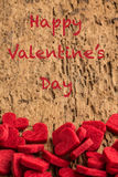 Valentine's day greeting Stock Photography