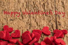 Valentine's day greeting Royalty Free Stock Image