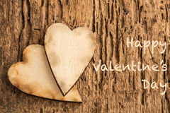 Valentine's day greeting Stock Images