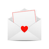 Valentine's Day Greetings Royalty Free Stock Photography