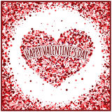 Valentine's Day. Greetings card Stock Photos