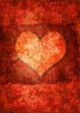 Valentine's day grunge background Stock Images
