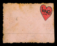 Valentine's day grunge background Stock Photo