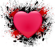 Valentine's day grunge background Royalty Free Stock Images