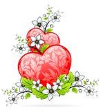 Valentine's Day heart Royalty Free Stock Photos