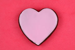 Valentine's Day Heart. Heart cookie valentine's day background stock photos