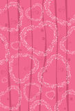 Valentine's Day Heart Background. Colorful Valentine's Day Heart Background Royalty Free Stock Photography