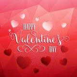 Valentine's Day heart background Stock Photo
