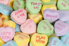 Valentine's Day Heart Candy royalty free stock image