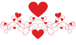 Valentine's Day Heart Decoration Royalty Free Stock Photo