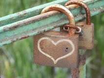 Valentine`s Day. Heart of the heart. Valentine`s Day. Padlock heart. Lovers Love Day Stock Images