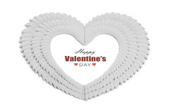 Valentine's day heart Royalty Free Stock Photography